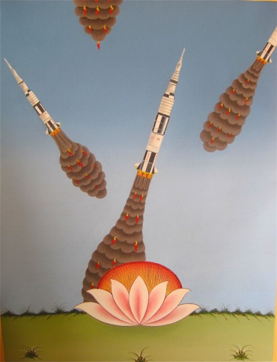 om pom phurba Namgay rocket-launching-lotus_15