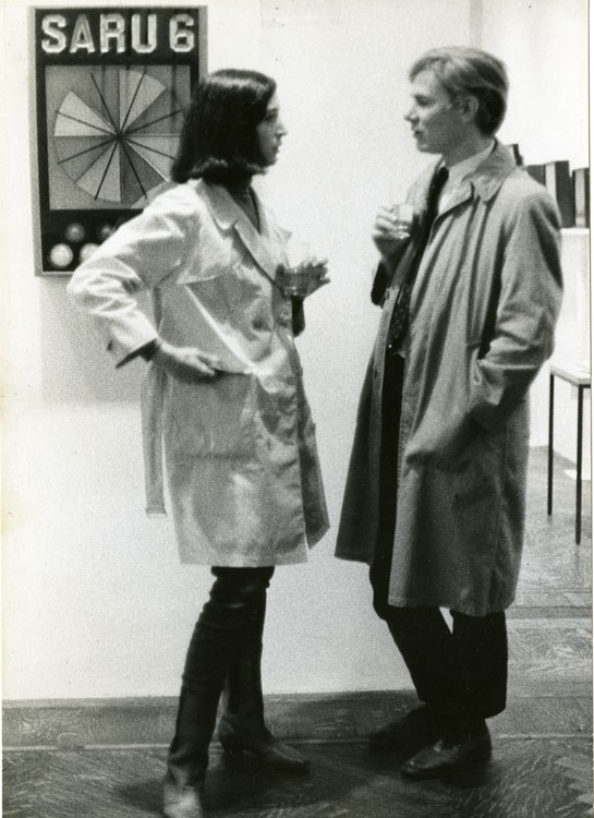om pom marisol with andy warhol