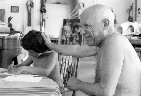 om pom picasso pablo-picasso-picasso-drawing-father-img