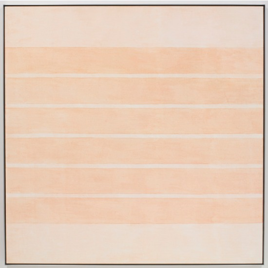 om pom agnes martin 7 watercolour graphite, ink 1977 9 x 9 inches
