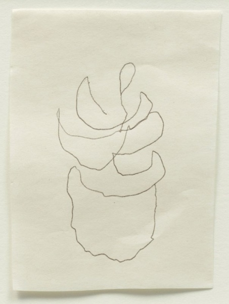 om pom agnes martin her last drawing 2004