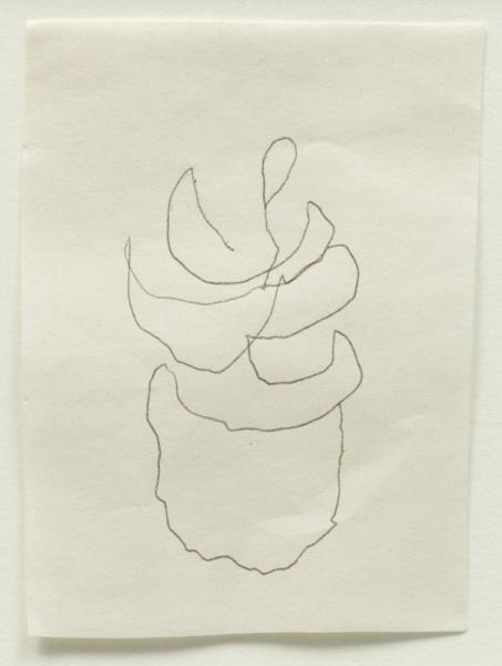om pom agnes martin her last drawing 2004