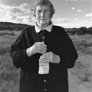Agnes Martin. 216B-012-002 Gallistea, NM, USA 1992