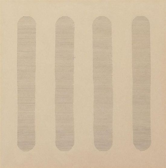 om pom agnes martin The Drop 1963