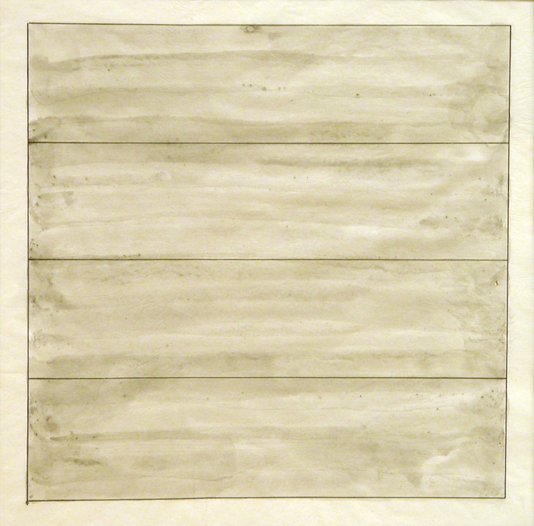 om pom agnes martin untitled 1994 ink and wash on paper