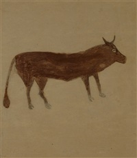 om pom bill-traylor-brown-bull