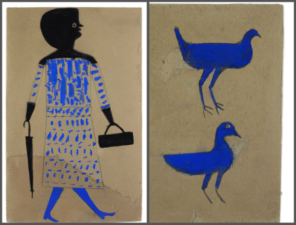 om pom bill traylor woman and chickens