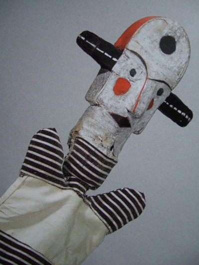 om pom paul klee puppets big eared clown