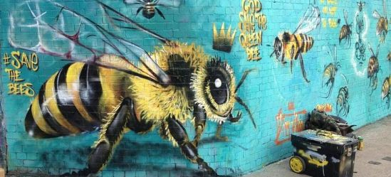 om pom masai save the bees project