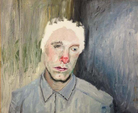 om pom magnus self portrait