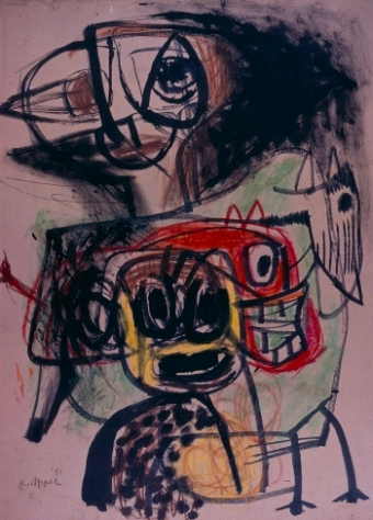 om pom Karel Appel all together