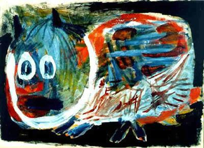 om pom karel appel creeping cat