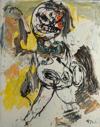 om pom Karel Appel part of nude series 1963