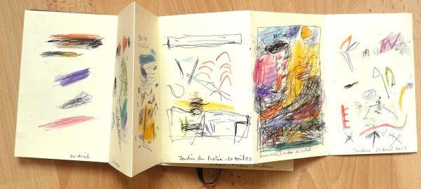 om pom marie cecile sketchbook 1