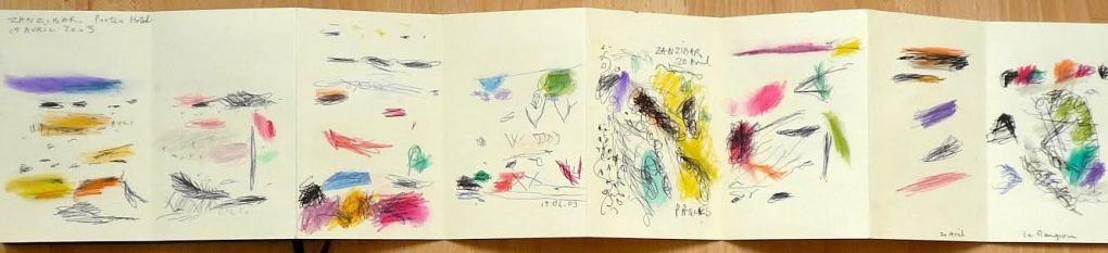 om pom marie cecile sketchbook 2