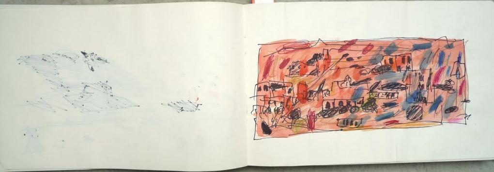 om pom marie cecile sketchbook 3