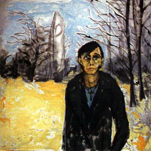 om pom david bowie Berlin landscape with J.O. (1978)