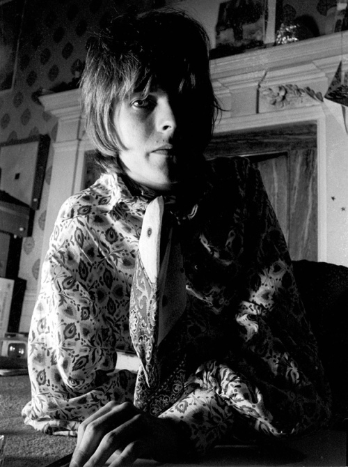 om pom david bowie fashion Bowie during the Laughing Gnome period in 1968