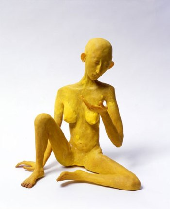 Frances Upritchard yellow figure 2007